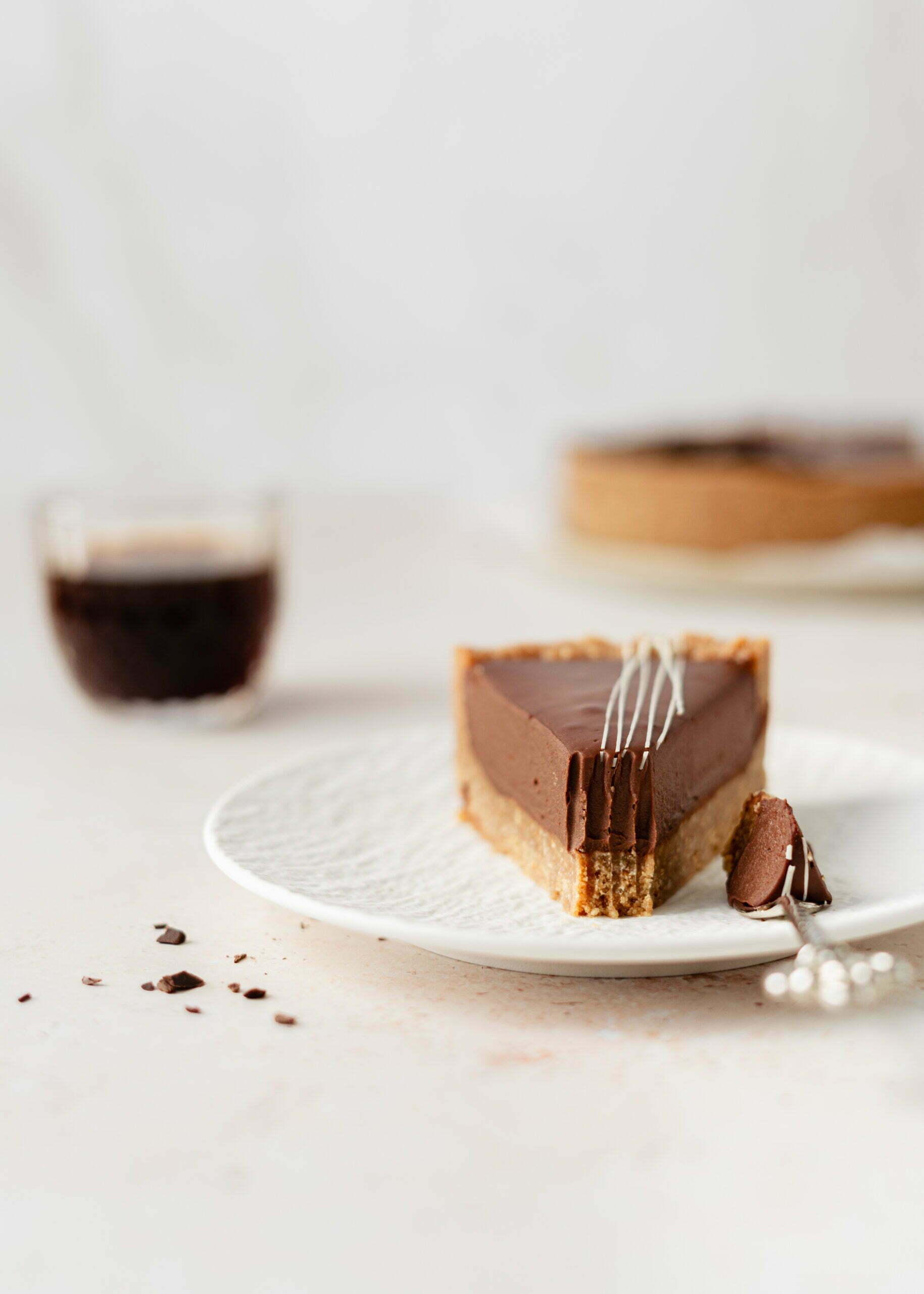 Čokoladna ganache pita