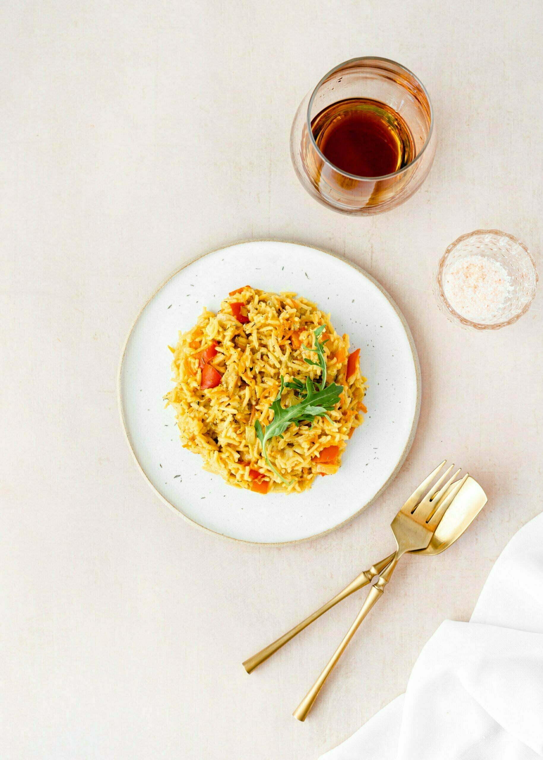 Veganska curry rižota