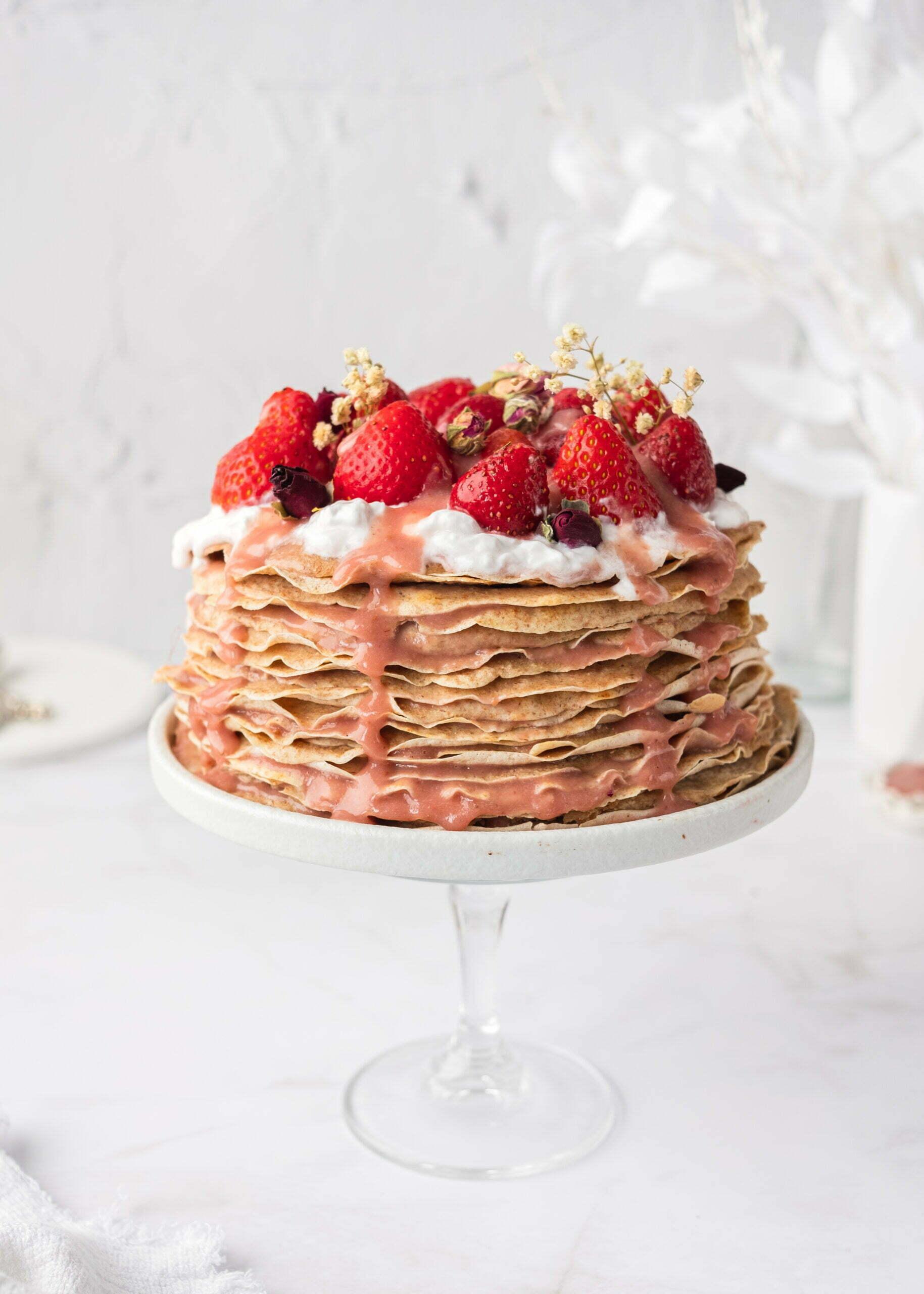 Torta iz polnozrnatih palačink