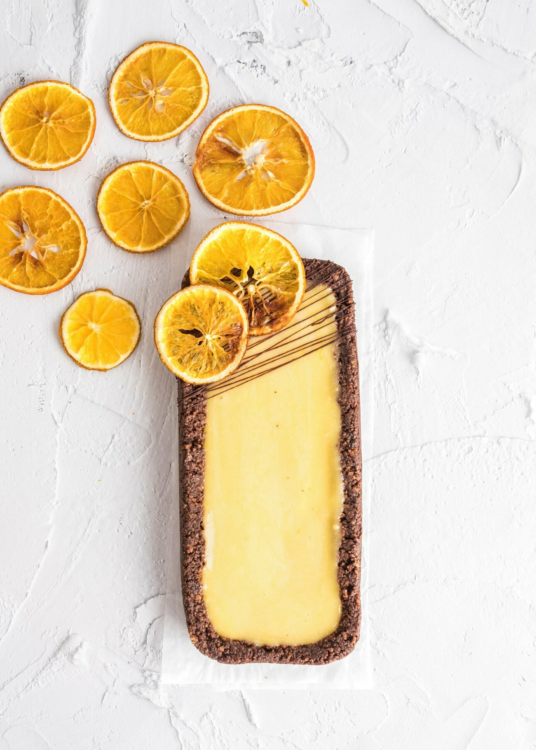 Pomarančna pita brez sladkorja