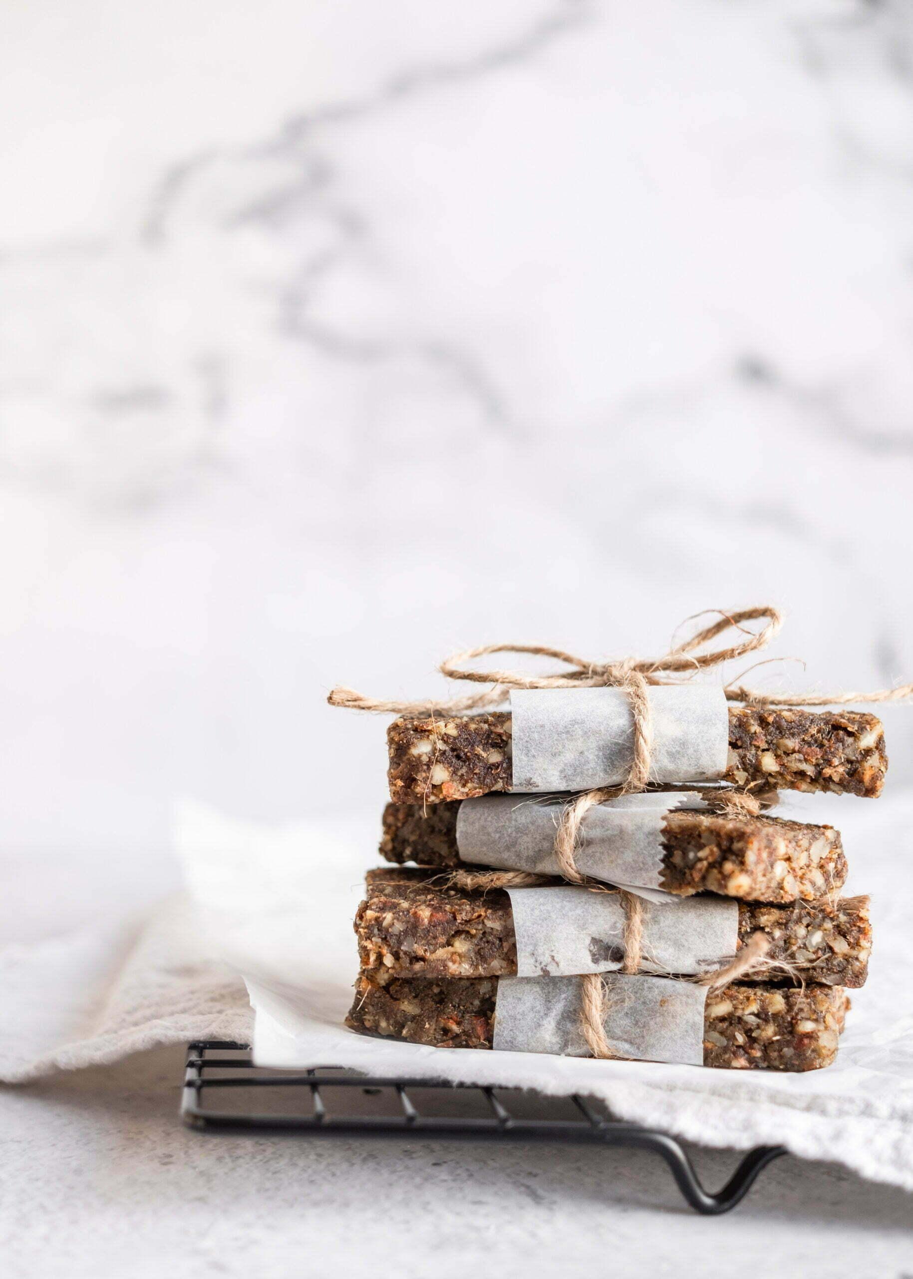 Proteinske energijske ploščice brez peke