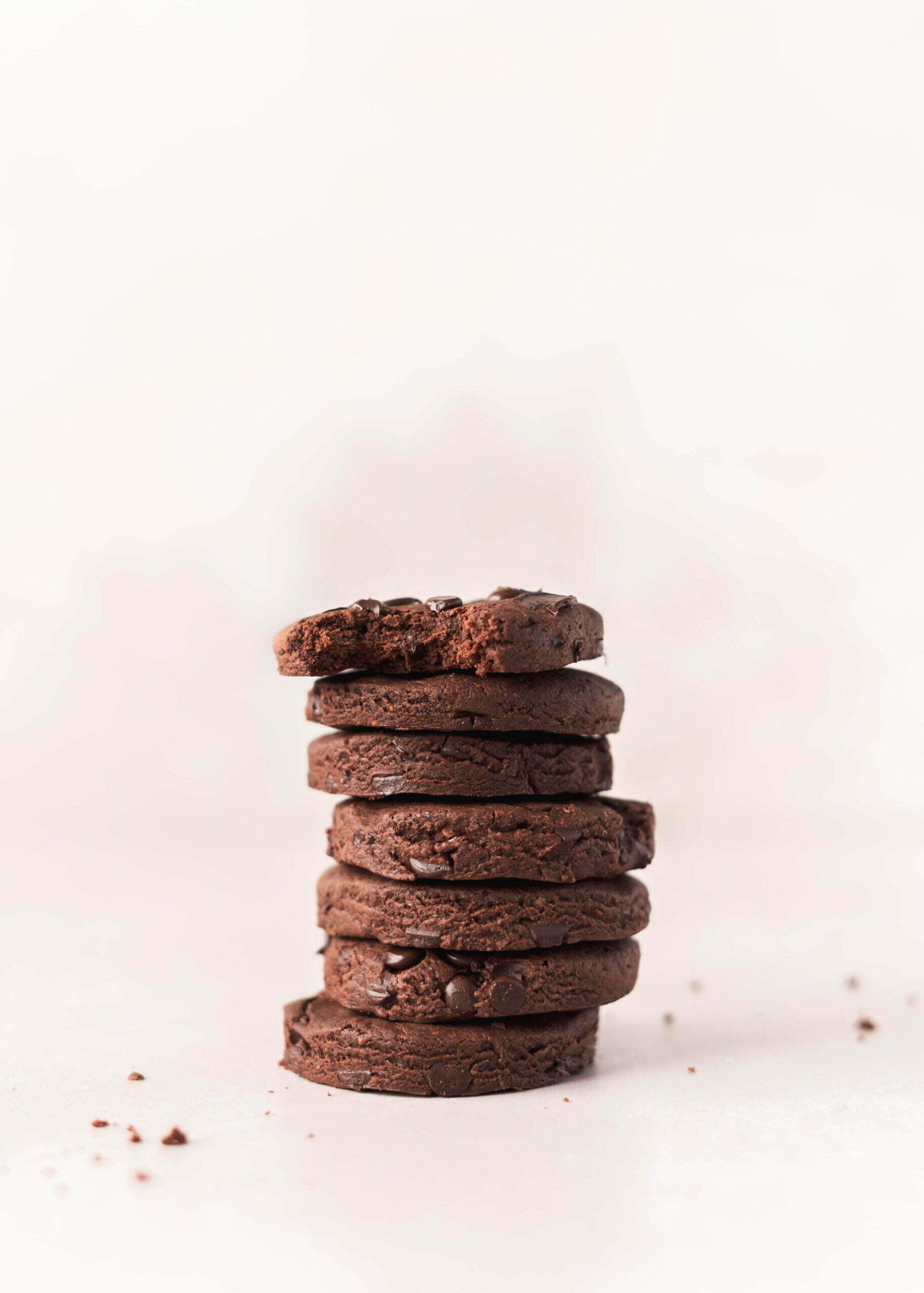 Ovseni brownie piškoti
