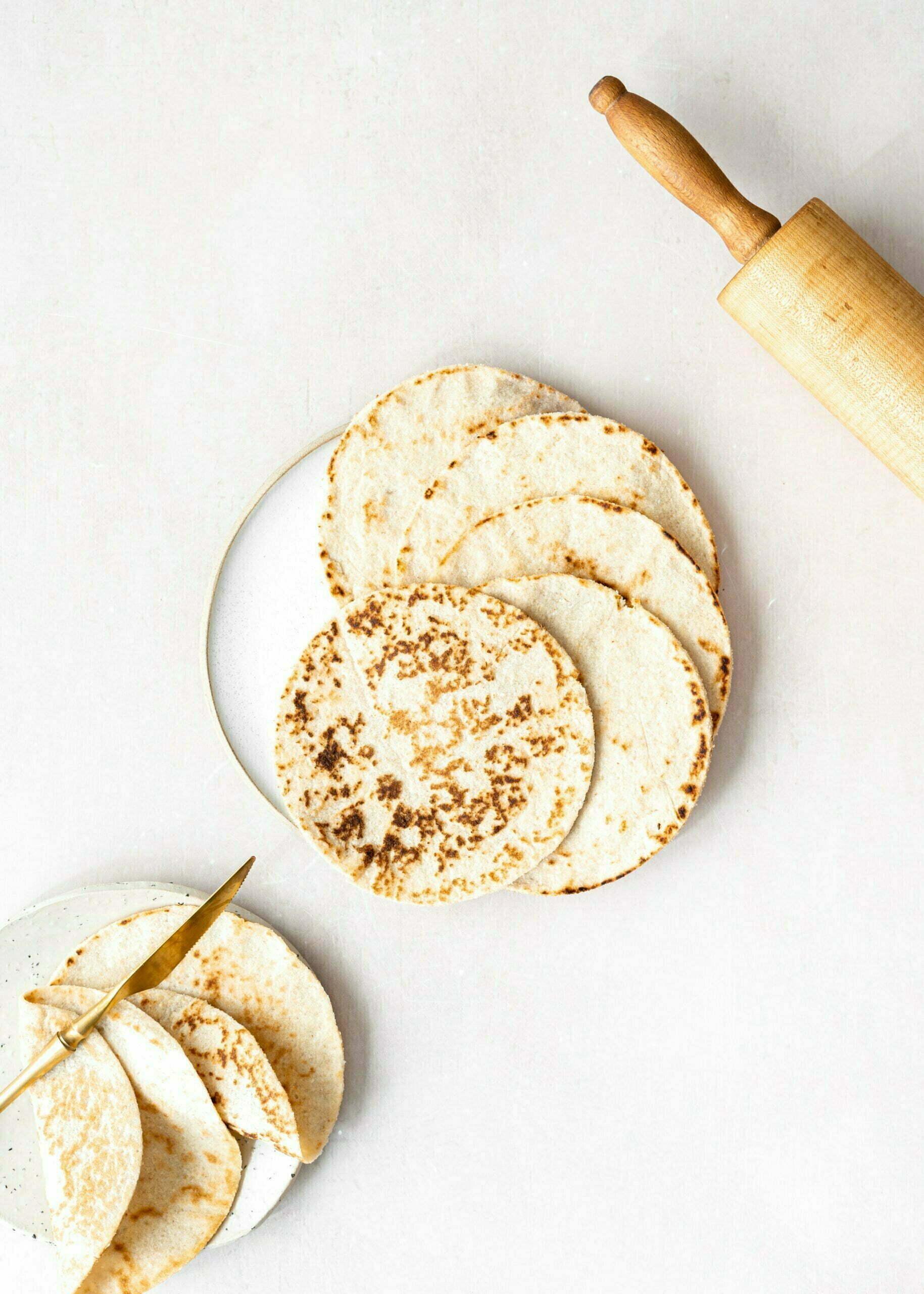 Veganske tortilje iz mandljeve moke