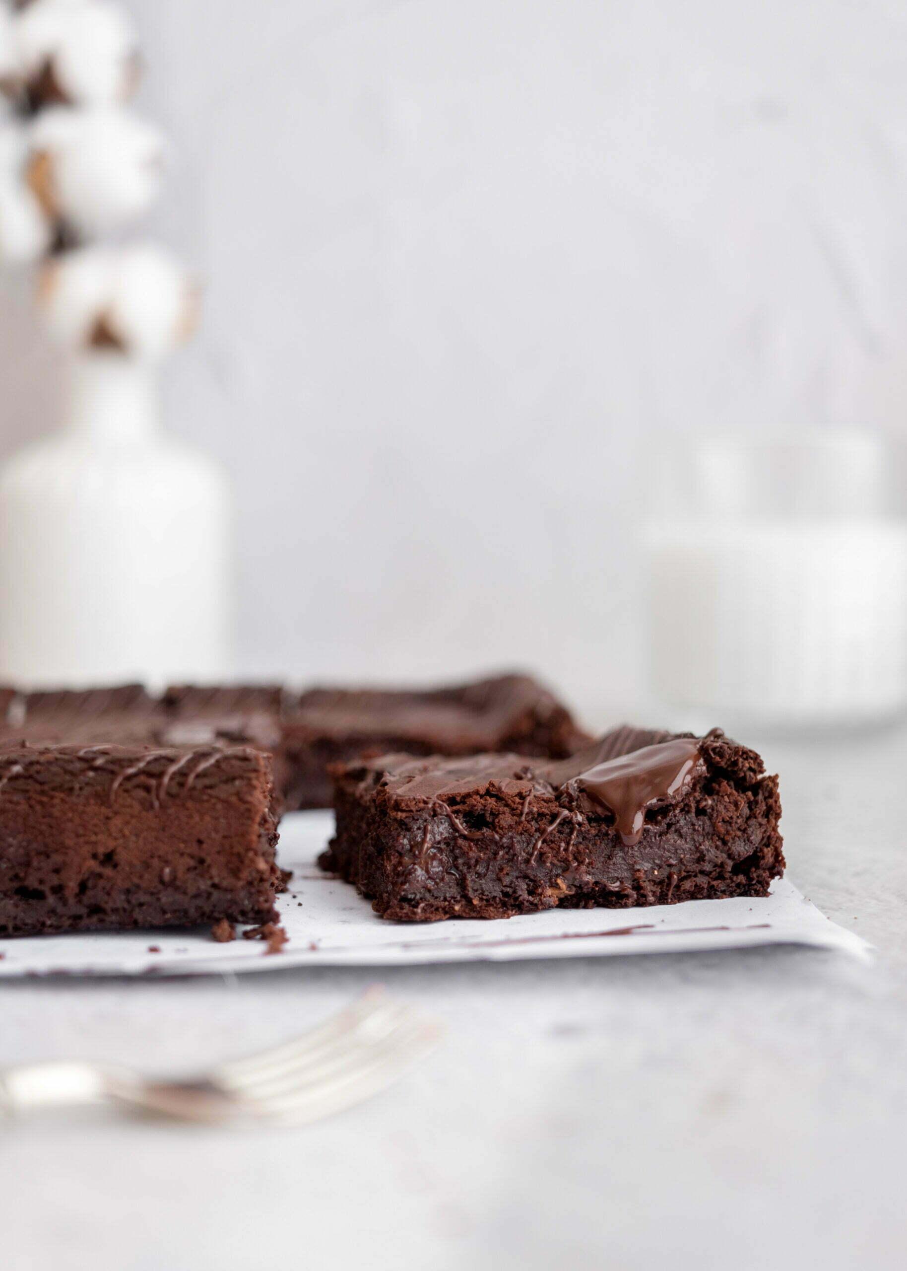 Nizkokalorični browniji brez moke in glutena