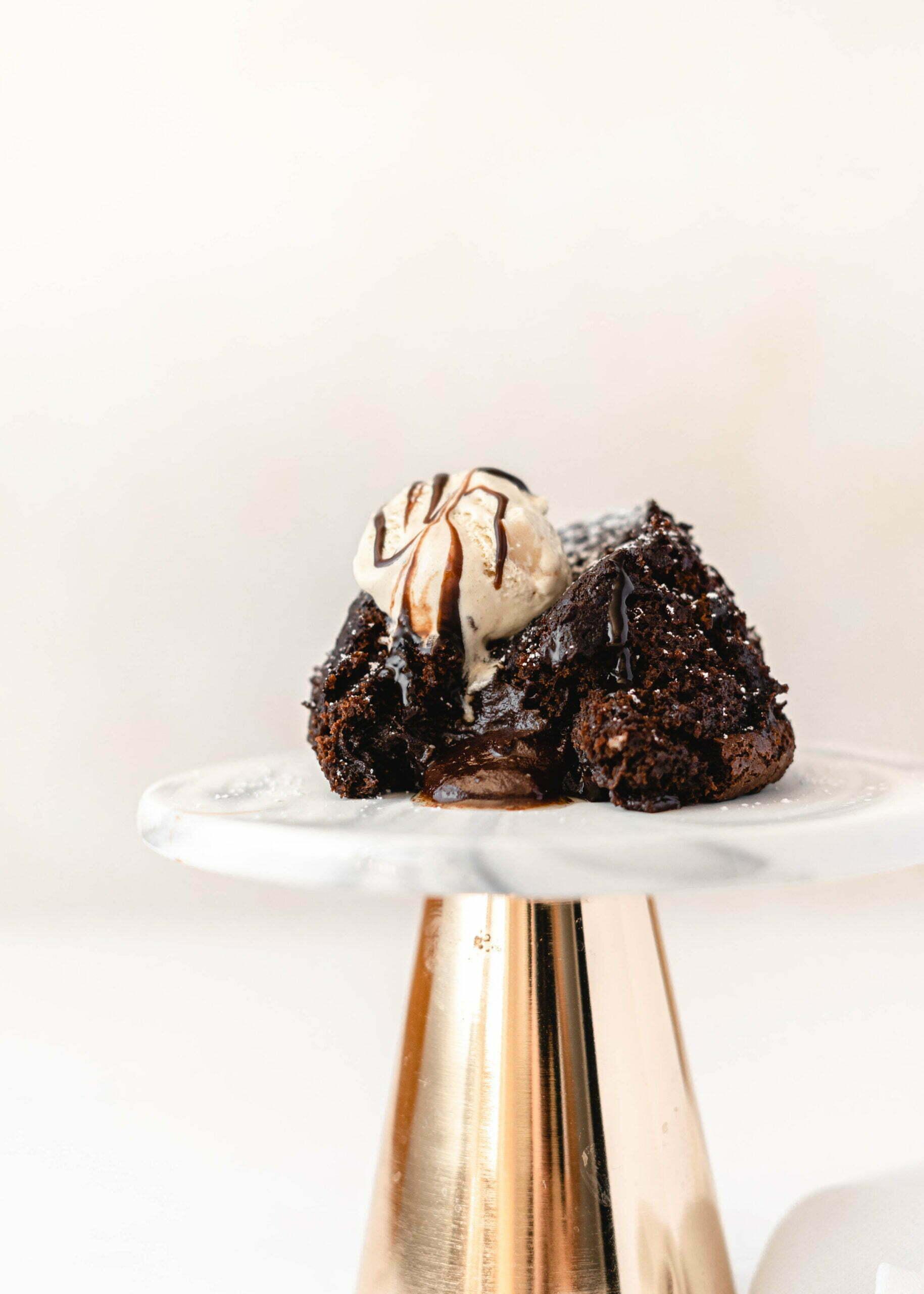 Veganski lava cake oz. sufle